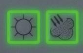Beleuchtete Folientastatur