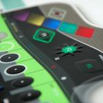Folientastatur mit spezial Farben und Sonderprägungen
